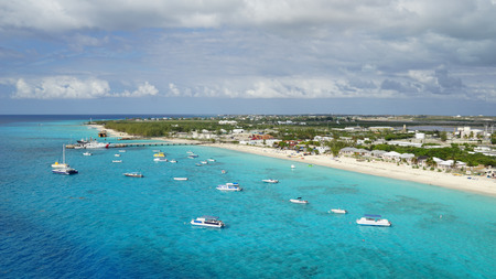 Grand Turk Island in the Turks and Caicos Islands in the Caribbean
