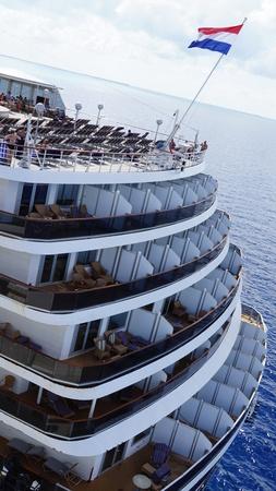 lido: Holland America Westerdam cruise ship in Grand Turk, Turks and Caicos Islands