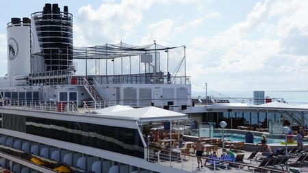 ms: Holland America Westerdam cruise ship in Grand Turk, Turks and Caicos Islands