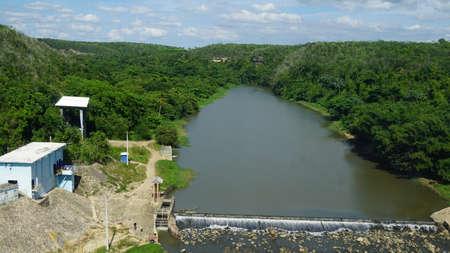 romana: Chavon River flowing through La Romana in the Dominican Republic