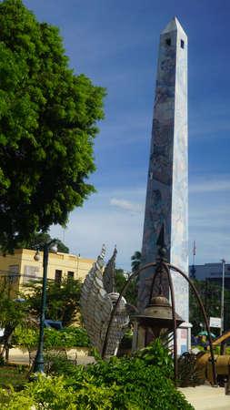 obelisco: El Obelisco in La Romana, Dominican Republic