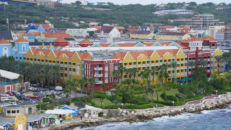 Rif Fort in Willemstad, Curacao Editorial