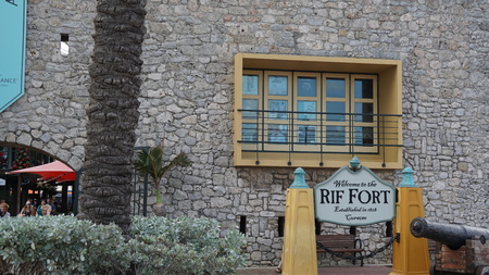 Rif Fort in Willemstad, Curacao Éditoriale