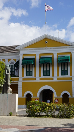 Governors Palace in Willemstad, Curacao Stock Photo - 78326405