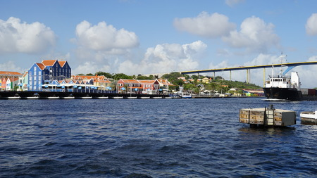 curacao: View of Willemstad in Curacao