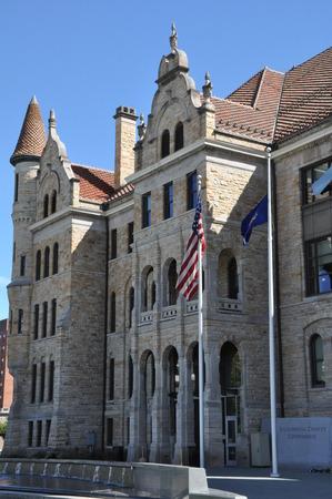 courthouse: Lackawanna County Courthouse in Scranton, Pennsylvania Editorial