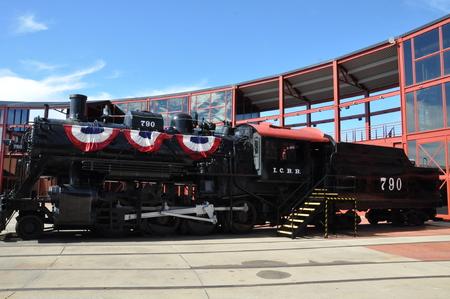 locomotion: Steamtown National Historic Site in Scranton, Pennsylvania