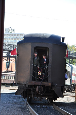 Steamtown National Historic Site in Scranton, Pennsylvania