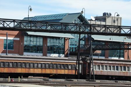 industrial park: Steamtown National Historic Site in Scranton, Pennsylvania