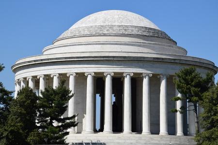 thomas: Thomas Jefferson Memorial in Washington, DC Stock Photo