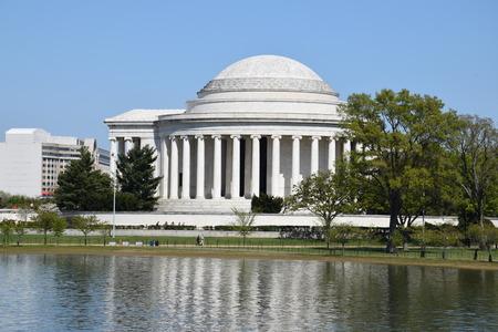 jefferson: Thomas Jefferson Memorial in Washington, DC Stock Photo
