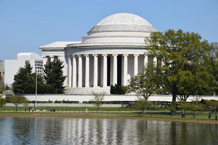 Thomas Jefferson Memorial in Washington, DC Stok Fotoğraf