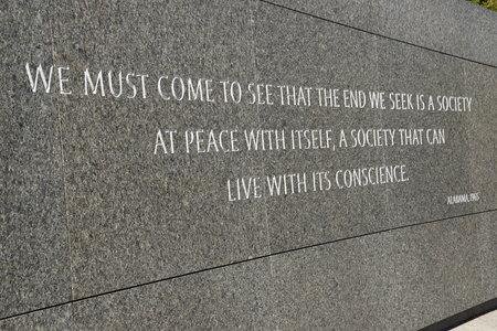 Martin Luther King Jr. Memorial in Washington, DC