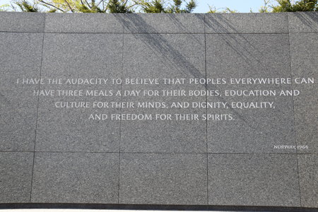 Martin Luther King Jr. Memorial in Washington, DC