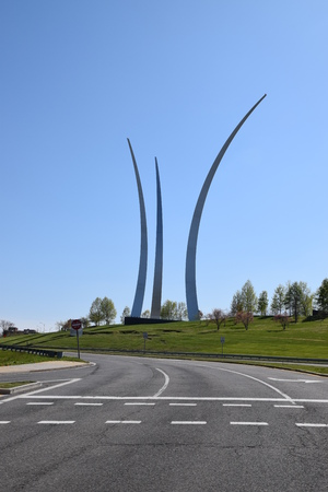 united states air force: The United States Air Force Memorial in Washington, DC