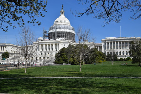 us capitol: The US Capitol in Washington, DC Stock Photo