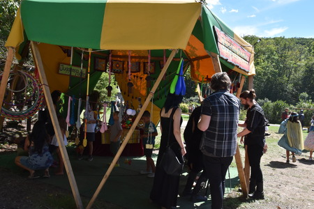The 2016 Renaissance Faire in Tuxedo Park, New York State, as seen on Sep 11, 2016. The New York Renaissance Faire was originally created in 1978. Imagens - 117388684