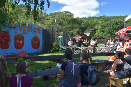 The 2016 Renaissance Faire in Tuxedo Park, New York State, as seen on Sep 11, 2016. The New York Renaissance Faire was originally created in 1978. Imagens - 117388691
