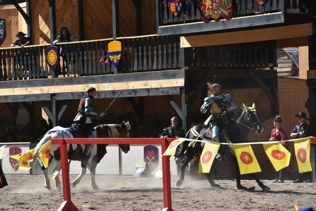 The 2016 Renaissance Faire in Tuxedo Park, New York State, as seen on Sep 11, 2016. The New York Renaissance Faire was originally created in 1978. Editorial