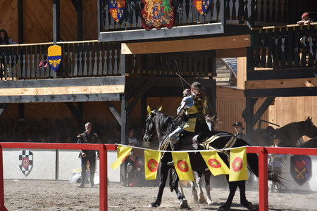 The 2016 Renaissance Faire in Tuxedo Park, New York State, as seen on Sep 11, 2016. The New York Renaissance Faire was originally created in 1978. Imagens - 117388658