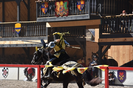 The 2016 Renaissance Faire in Tuxedo Park, New York State Editorial