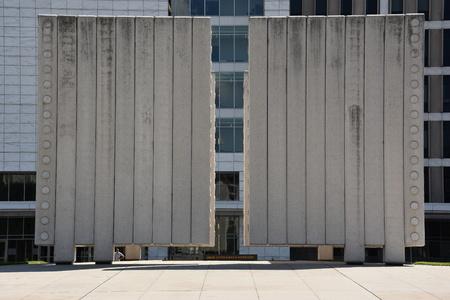 john fitzgerald kennedy: John Fitzgerald Kennedy Memorial in Dallas, Texas
