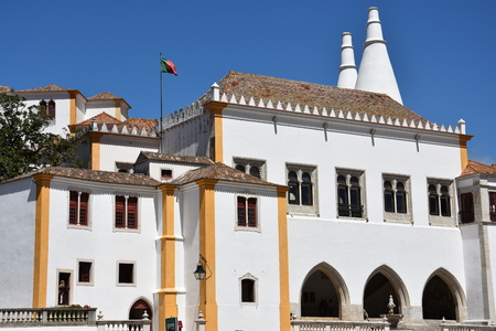 National Palace of Sintra in Portugal Editorial
