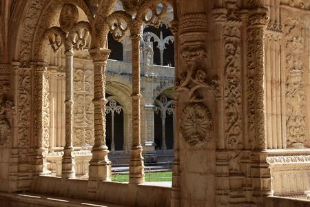 Jeronimos Monastery at Belem in Lisbon, Portugal Stok Fotoğraf - 93729009