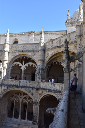 Jeronimos Monastery at Belem in Lisbon, Portugal