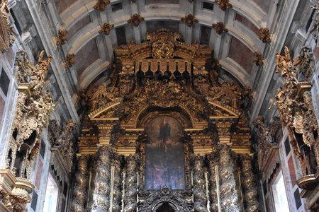 ポルト、ポルトガルのポルト大聖堂 報道画像