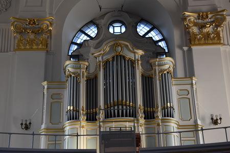 st german: St. Michaels Church in Hamburg, Germany