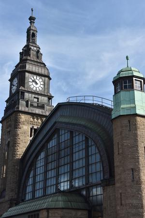 Hauptbahnhof in Hamburg, Germany Stock Photo