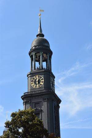 St. Michaels Church in Hamburg, Germany