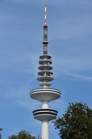 novelties: The radio telecommunication tower Heinrich Herz Turm in Hamburg, Germany