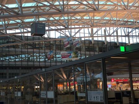 Hamburg Airport (Flughafen Hamburg) in Germany 報道画像