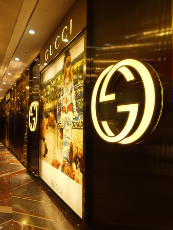 Gucci store at the High Street Phoenix Mall in Mumbai, India