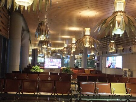 Chhatrapati Shivaji International Airport in Mumbai, India Editorial