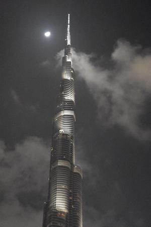 Burj Khalifa in Dubai, UAE 版權商用圖片