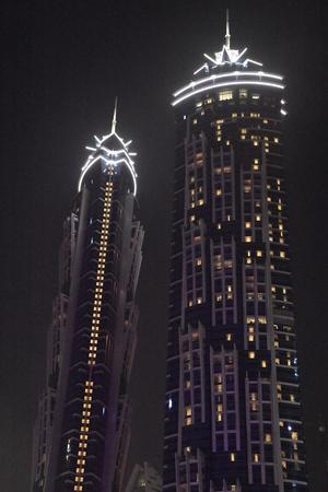 JW Marriott Marquis Dubai, UAE 版權商用圖片