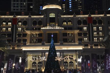 The St. Regis Dubai, W Dubai - Al Habtoor City and The Westin Dubai, Al Habtoor City, in Dubai, UAE