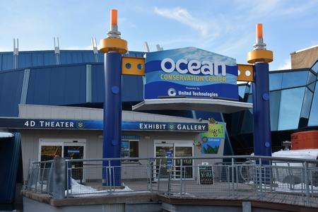 fish tank: Mystic Aquarium in Connecticut