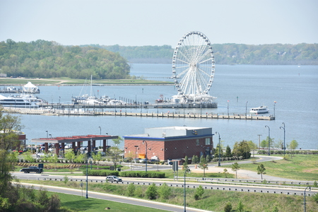 md: The Capital Wheel at National Harbor in Oxon Hill, Maryland