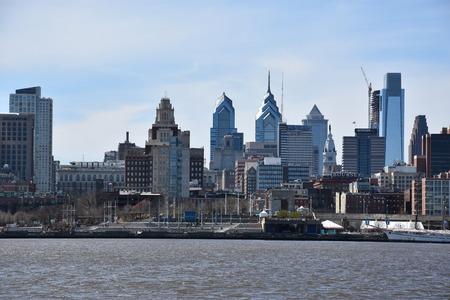 Philadelphia skyline in Pennsylvania