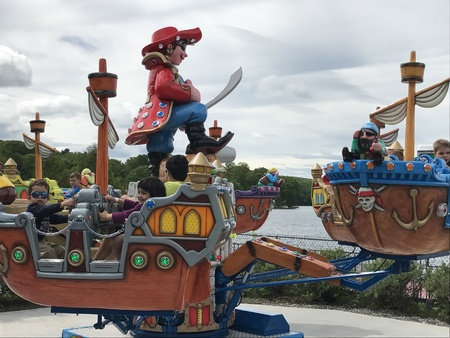 Quassy Amusement Park in Middlebury, Connecticut