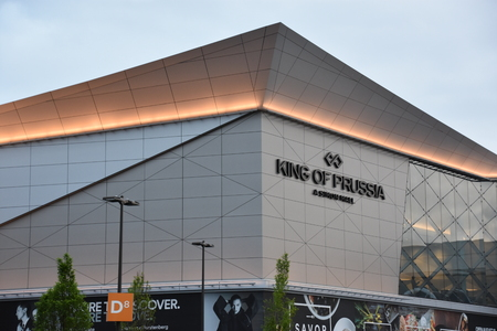 King of Prussia Mall in Pennsylvania Editorial