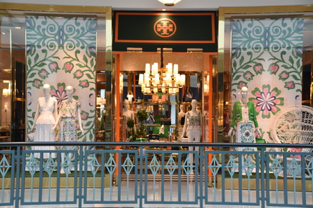 Tory Burch store at King of Prussia Mall in Pennsylvania