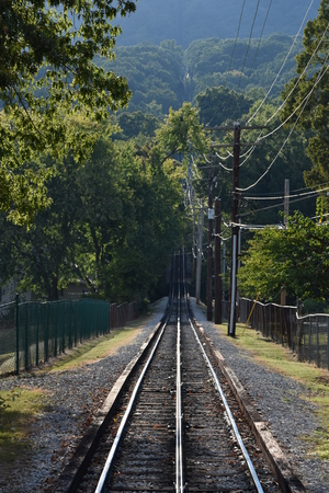 The Lookout Mountain Incline Railway in Chattanooga, Tennessee