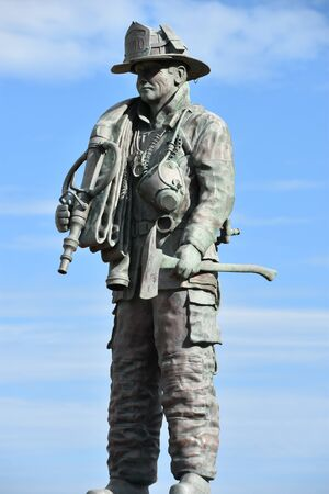The Firefighter Memorial in Ocean City, Maryland