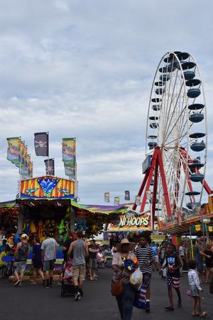 md: Jolly Roger Amusement Park in Ocean City, Maryland