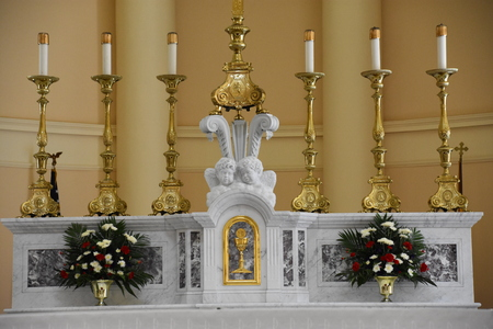 Basilica of the National Shrine of the Assumption of the Blessed Virgin Mary, in Baltimore, Maryland